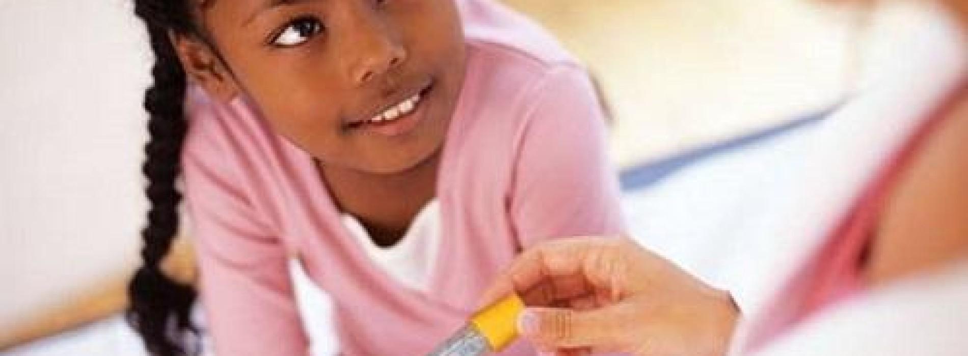 Risks of diabetes in children