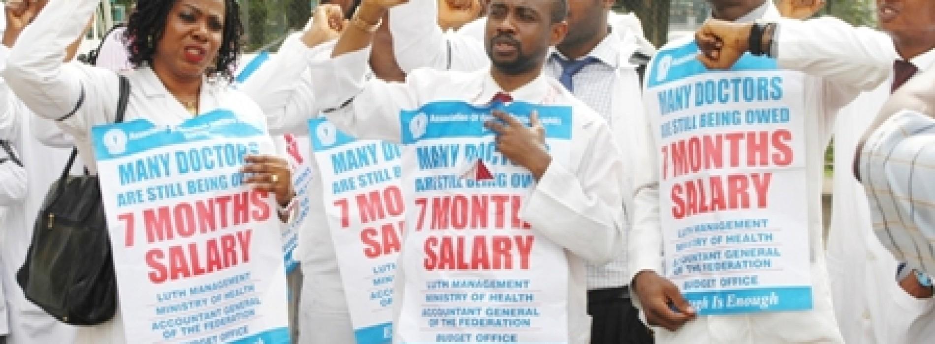 FG sacks striking resident doctors