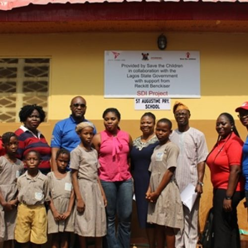 Kudos as Save The Children  donates toilets to Lagos schools