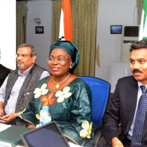 NAFDAC  DG meets Indian professional forum