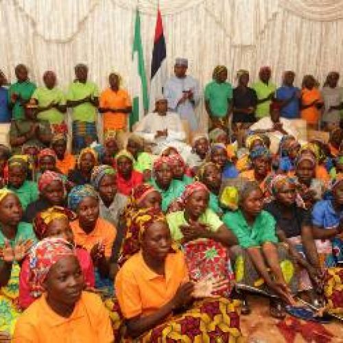 Buhari directs best care for released Chibok girls – Minister