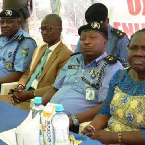 FUNAAB lays foundation for community police station
