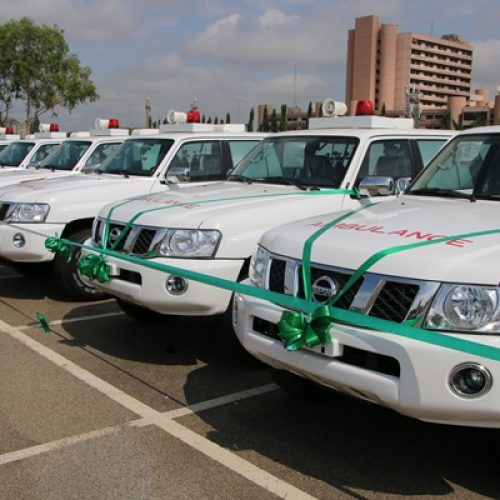 Japan donates ambulances to Nigeria