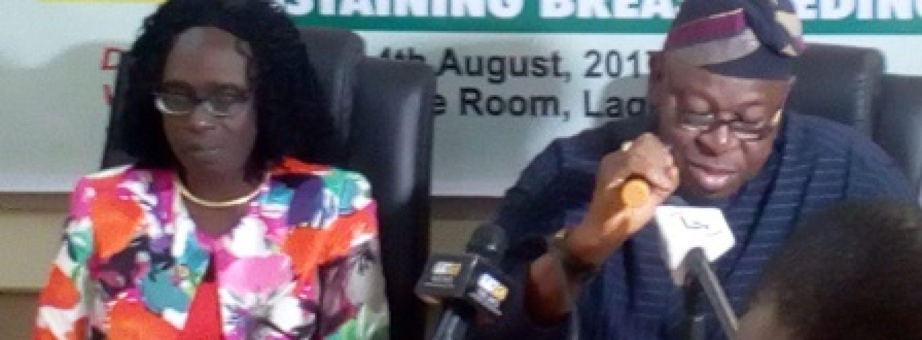 Lagos moves to sustain exclusive breastfeeding