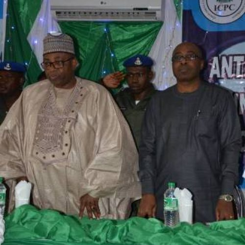 ICPC Workshop: Bauchi Governor Charges Nigerians to Stop Condoning Corrupt Leaders