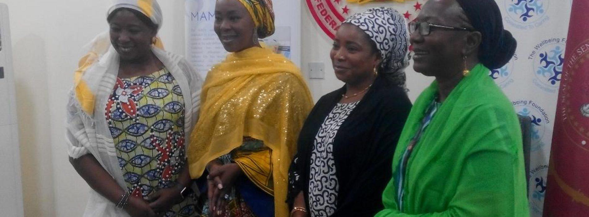 UNFPA lauds Mrs Saraki's commitment to mothers, children's health in Nigeria