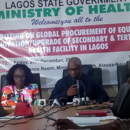 Lagos invests N2.5 billion on health equipment in 2017, Commissioner says