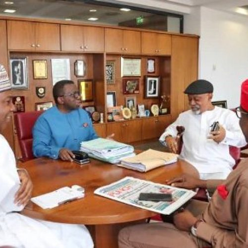 JOHESU strike: Senate President meets union leaders, health, labour ministers