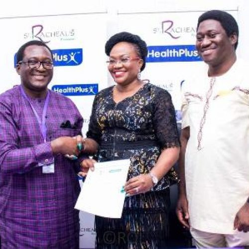 St. Racheal's Pharma, HealthPlus sign agreement to promote life expectancy in Nigeria