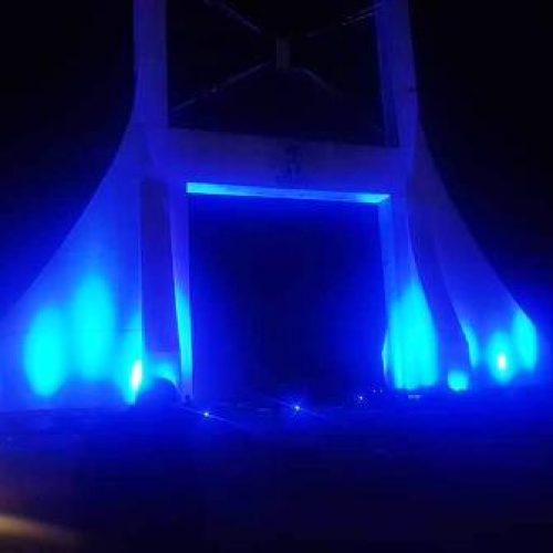 UNICEF lights Abuja gate 'blue' for World Children's Day