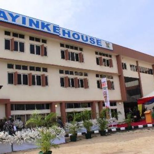 Buhari Unveils Refurbished 170-bed 'Ayinke House'