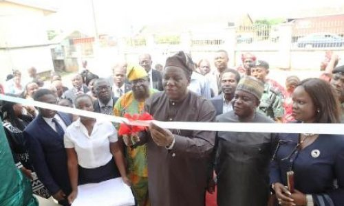 Chevron companies, others, donate education, health facilities to schools and hospital
