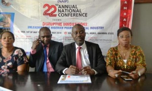 NAIP urges FG to build pharmaceutical production plants