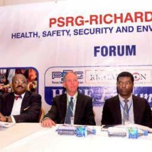 Chevron MD chairs 2019 PRSG-Richardson health, security forum