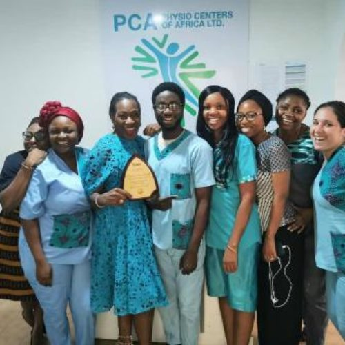Physio Centres of Africa named 'Private Physiotherapy Provider of the Year'