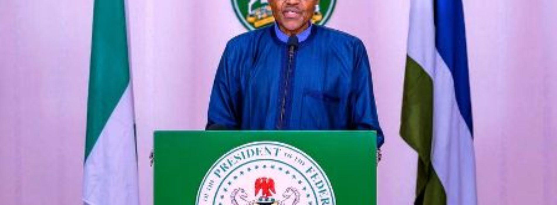 Buhari extends lockdown in Lagos, Abuja, Ogun State