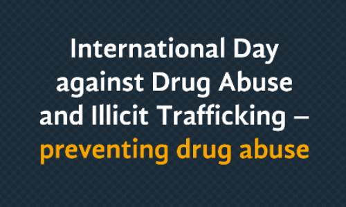35 million people suffer drug use disorders globally – UNODC report reveals on International Day Against Drug Abuse and Illicit Trafficking