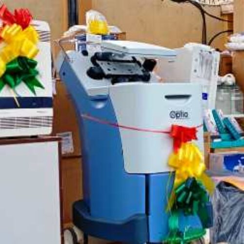 NNPC/SNEPCo donates medical equipment, ambulance to support Lagos of COVID-19 fight