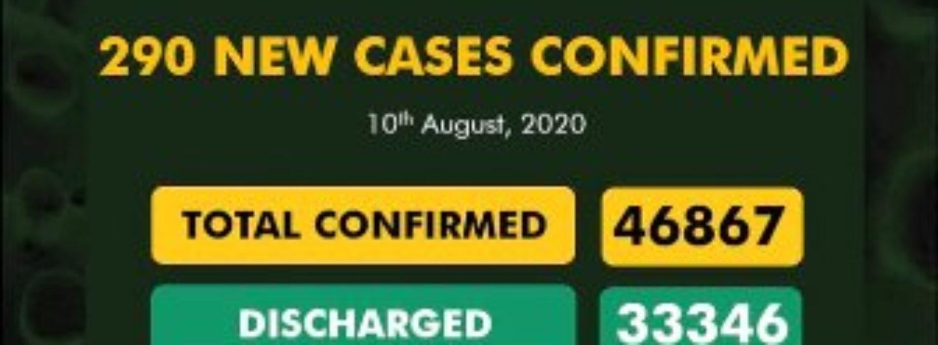Nigeria records second lowest COVID-19 figure since June