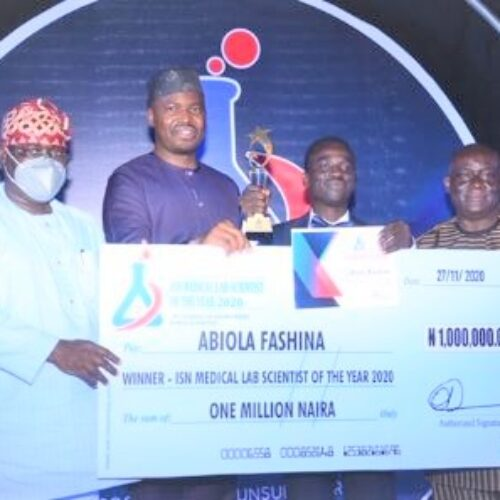 ISN rewards 'Lab Scientists of The Year' with N1m